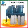 SUS304 Filter van de Druk van het Blad van de Olie van het bleken de Verticale