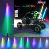 Offroad Buggy LED Whips Auto-Switching Whips de couleur avec télécommande dans 2/3/4/5/6FT