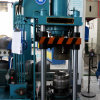 LPGのガスポンプの製造業ラインのための機械腕を搭載する機械を作る自動穴の打つ機械およびロゴ