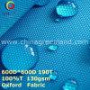 Сплетенная ткань Оксфорд полиэфира обыкновенная толком для мешка одежды (GLLML274)