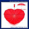 В форме сердечка прямо свадебный подарок зонтик с высоким качеством Китая под эгидой