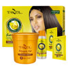 Cabelo Relaxer do tratamento do cabelo da manteiga de Shea de Tazol Silksoft