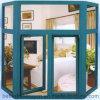 Spätester Preis mit Qualitäts-Flügelfenster/Schwingen-Aluminiumfenster