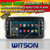 Witson Android5.1 Car DVD para Mercedes-Benz C-Class W203 (2000-2004) com Quad Core Rockchip 3188 1080P 16g ROM WiFi 3G Internet Font DVR Picture (W2-F9703E)
