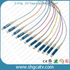 12 Color LC / Upc Fibra Óptica Patch Cord Cinturas