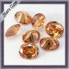 La forma oval de diamantes de talla de la piedra preciosa Cubic Zirconia