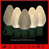 Свет рождества света шнура света 220V/110V C7/C9 праздника CE/RoHS Approved/белый свет шнура клубники