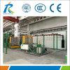 Máquina do revestimento esmaltado de 3 estações para a produção do tanque de água do esmalte