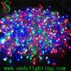 Luzes da corda do grampo da decoração do Natal do diodo emissor de luz RGB