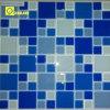 Mattonelle di mosaico blu di cristallo a Foshan Cina