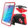 Caja a prueba de choques híbrida barata del teléfono para Samsung J3