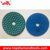 Granite Marble/Concrete를 위한 7 단계 Dry Polishing Pad Diamond Tools