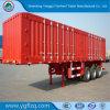 Hete Verkoop 3 Asbus/Van Type Cargo Semi Aanhangwagen met de As van Fuwa Valex voor Vervoer van Bulkgoederen