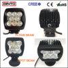 Indicatore luminoso fuori strada quadrato del lavoro 4X4 del CREE LED 80W per la jeep 6inch del camion