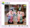 Grappig de Zingende en Dansende Clown van de Pluche Elektronisch Stuk speelgoed