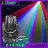 lumière mobile d'effet de laser de tête DJ d'étape polychrome de disco de 4W