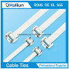 Atadura de cables liberable del acero inoxidable 316 con la UL