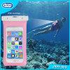 Bolso impermeable portable del PVC del teléfono móvil de la alta calidad caliente promocional de la venta para el teléfono para el iPhone para Samsung