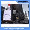 Mur visuel polychrome extérieur de DEL pour la publicité avec l'intense luminosité (pH10 960mm*960mm)
