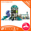 Ce Aprovado Plastic Outdoor Children Playsets Tube Slide