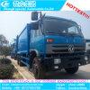 Lixo novo da compressão de 16m3 18m3 que transporta o baixo preço do caminhão