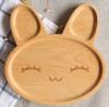 Color natural de la nueva manera de madera el disco de la fruta del estilo de la haya