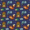 Tela animal da cópia de Digitas do partido do Knit de Lycra do algodão