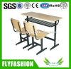 Fastness 및 튼튼한 두 배 학생 의자 학교 책상 및 의자 학교 가구 (SFQ-53)