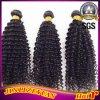 Глубокие человеческие волосы 100% индейца Weave человеческих волос скручиваемости