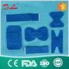 식품 산업 (BL-007)를 위한 파란 탄력 있는 직물 부상 붕대