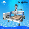Máquina publicitaria de acrílico del CNC del PVC del MDF del cuero de madera