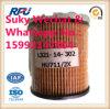 Autoteil-Schmierölfilter für Mann Hu711, 2X, L321-14-302