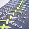 Étiquette d'impression en silicone pour vêtements de confection