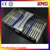 Nicht rostende zahnmedizinische Kassette des Sterilisator-M185X110