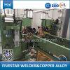 Machine automatique de couture de soudage par résistance pour le radiateur en acier