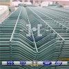 El verde recubierto de PVC cercas de malla de alambre soldado