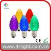 0.3W E17 Candle Small Multi-Color C9 Decorative LED Lamp