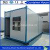 Casa prefabricada del envase del paquete plano del edificio del panel de la estructura de acero y de emparedado para la oficina/el departamento/la comodidad