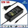 Wechselstrom-Gleichstrom-Adapter UL-aufgeführter 12V 5A 60W für CCTV-Kamera
