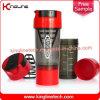 600ml botella de la coctelera de plástico con filtro y contenedores OEM ( KL- 7008 )