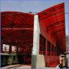 اثنان طبقة أحمر/[بروز] فحمات متعدّدة صفح لأنّ ظلة