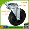 160/200mm Black Rubber Wheels Caster für Garbage Bin