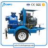 Zwei Rad-Schlussteil-horizontale Selbstgrundieren-Abwasser-Pumpe