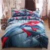 一義的で涼しい流行のくも人の羽毛布団カバーおよびシーツの寝具セット