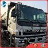 2007~2010の白ヘッド黒キャリッジ新しライトが付いている手動使用日本作られたIsuzuのダンプトラック