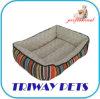 Het Bed van het Huisdier van de Kat van de Hond van het Bont van de Cirkel van het comfort (WY1204064A/C)