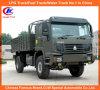 Tutto il camion del carico di Sinotruk HOWO 4X4 dell'azionamento della rotella per il deserto