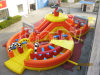 2015 neues Model Inflatable Obstacle für Promotion