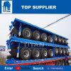 대륙간 탄도탄 3 차축 40t/60t 선적 컨테이너 평상형 트레일러 트럭 트레일러