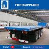 Titan-Fahrzeug - 40 Fuß des Behälter-3 Wellen-Flachbettschlußteil-für Verkauf